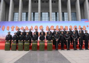 滨州千名保安完成消防培训